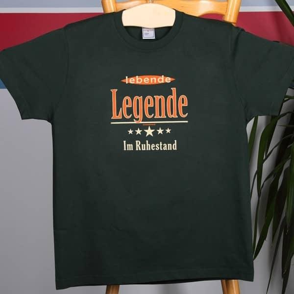 T-Shirt Lebende Legende im Ruhestand
