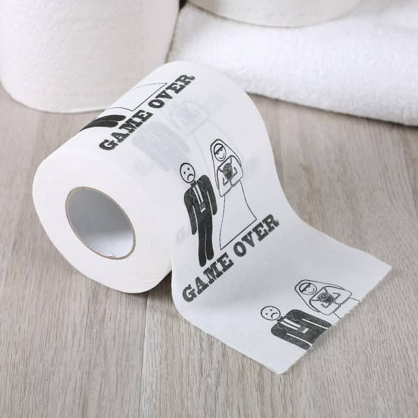 Toilettenpapier Game Over
