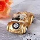 Kleine Oldtimer-Figur zur Goldhochzeit