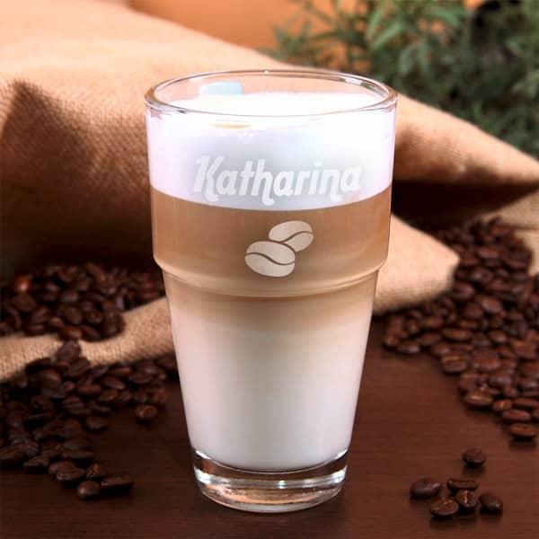 Leonardo Trinkbecher mit Kaffee-Motiv