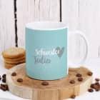 Kaffeetasse mit Schwesterherz-Motiv
