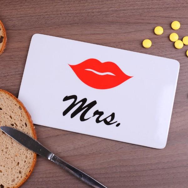 Frühstücksbrettchen Mrs. Design