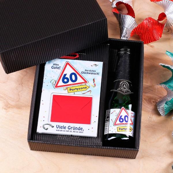 Party-Geschenk-Set zum 60. Geburtstag
