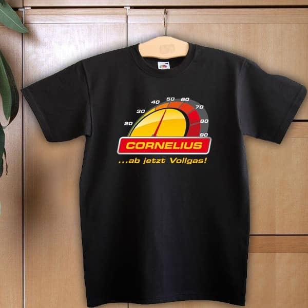 T Shirt zum 50. Geburtstag ab jetzt Vollgas