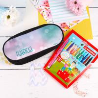 Stiftebox für Mädchen mit Stabilo® Stiften gefüllt