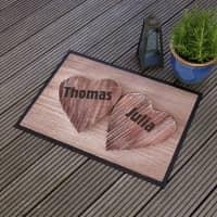 Fußmatte für Verliebte
