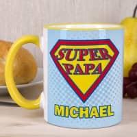 Super Papa - Tasse mit Wunschname