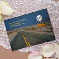 Personalisierte Geburtstagskarte Vollgas