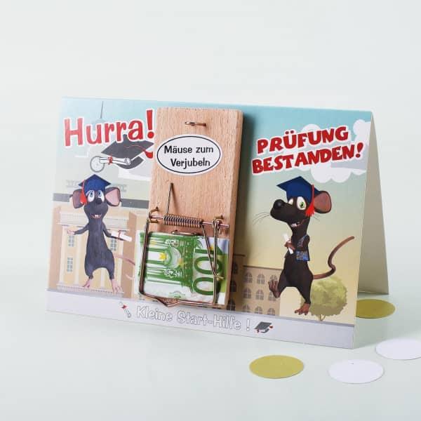 Mäuse zum verjubeln - Hurra Prüfung bestanden!