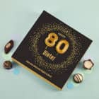 Happy 80 - Lindt Pralinen zum 80. Geburtstag, 100g