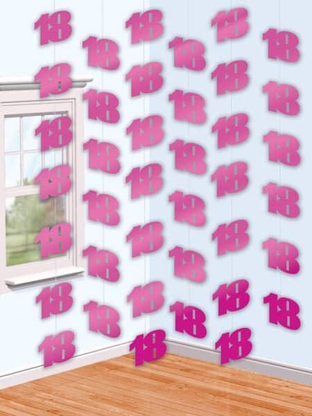 Deckenhänger zum 18. Geburtstag