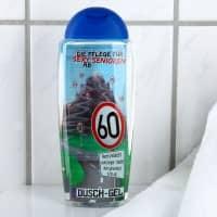Duschgel Altersgeruch zum 60. Geburtstag mit lustigen Sprüchen