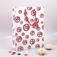 Geschenk-Tasche Verkehrszeichen 70