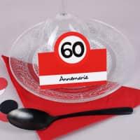 Platzkarten für den 60. Geburtstag