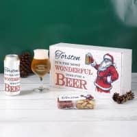 It´s the most wonderful time for a beer - Bierset für Männer zu Weihnachten