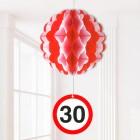 Partydekoration Ballon zum 30. Geburtstag