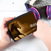 Geldbörse Pferd mit Name
