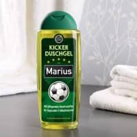 Kicker Duschgel mit Name für Fußballer