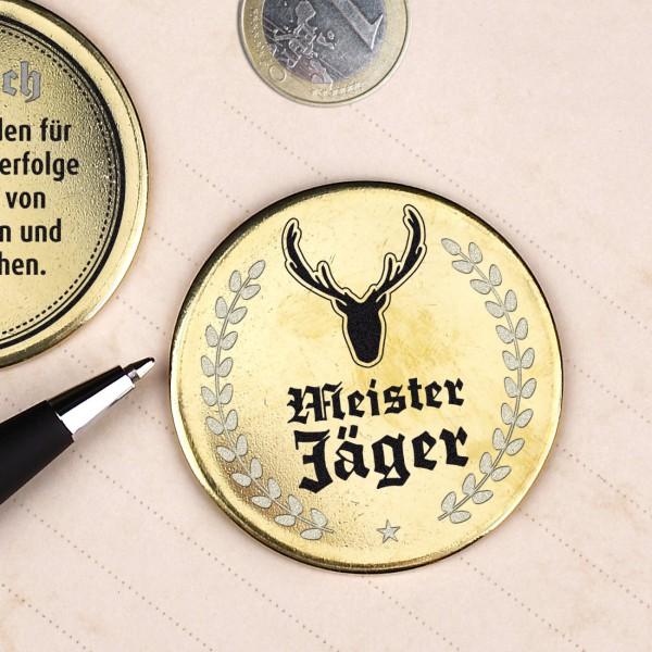 Goldener Orden für Meister-Jäger mit Wunschtext