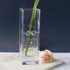 Vase mit Gravur als Geschenk zur Hochzeit