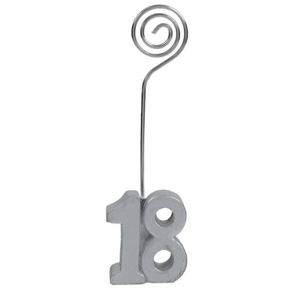 Tischkartenhalter zum 18. Geburtstag