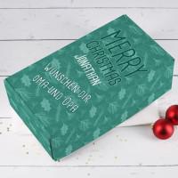 Merry Christmas - Geschenkverpackung mit Personalisierung