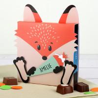 Lindt Pralinen in Fuchsverpackung zur Schuleinführung