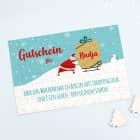 Gutschein-Puzzle zu Weihnachten mit Name und Wunschtext, 120 Teile
