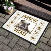 Fußabtreter für Hundebesitzer