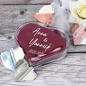 Herzdose als Geldgeschenk