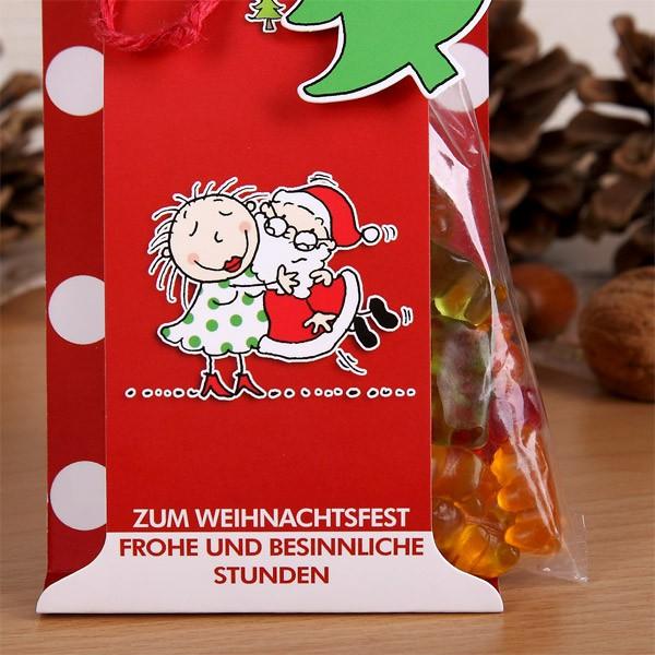 Gummibärchen Be Happy! zum Weihnachtsfest