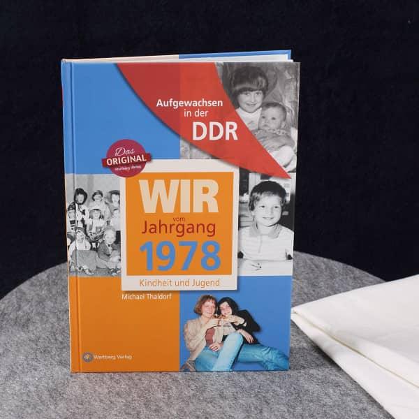 Jahrgangsbuch 1978 Kindheit und Jugend in der DDR