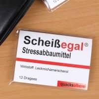 Kaugummi Stressabbaumittel - Scheißegal