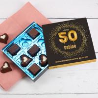 Happy 50 - Lindt Pralinen zum 50. Geburtstag, 100g