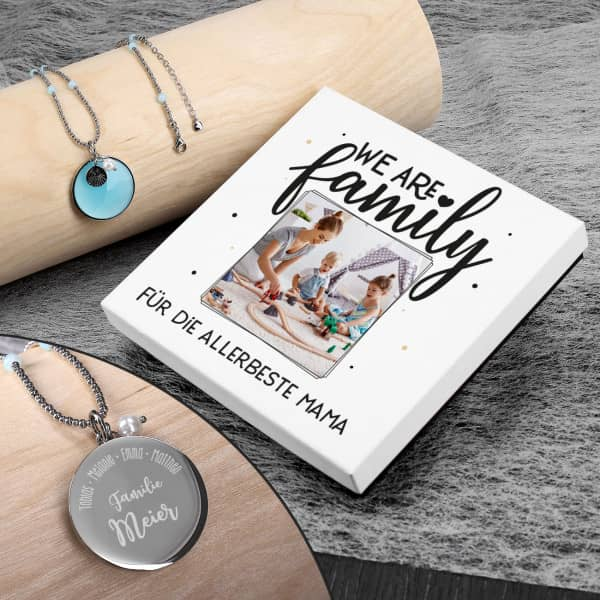 - Leonardo Kette mit bedruckter Geschenkverpackung zum Muttertag - Onlineshop Geschenke online.de