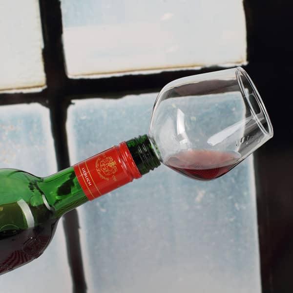 Flaschenaufsatz für Weinflaschen