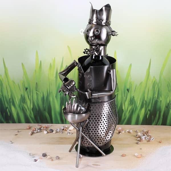Flaschenhalter aus Metall