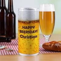 Große Bierdose - Happy Beersday