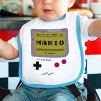 Spielkonsole - Lätzchen für kleine Jungen