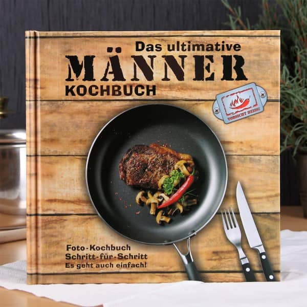Das ultimative Männer Kochbuch