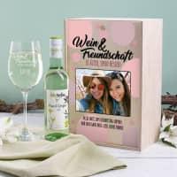 Wein & Freundschaft - Weinset für die Freundin