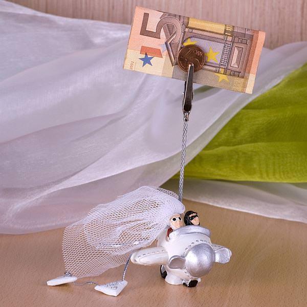 Hochzeitsflieger mit Clip
