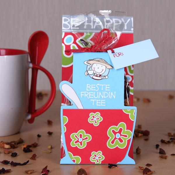 Be Happy! - Beste Freundin Tee