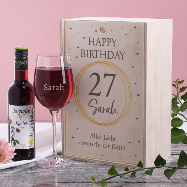 Geschenkset zum Geburtstag