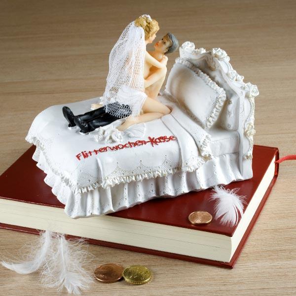 Hochzeitsgeschenk Spardose für die Flitterwochen  geschenke-online ...