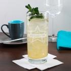 Trinkglas Star mit Wunschnamen