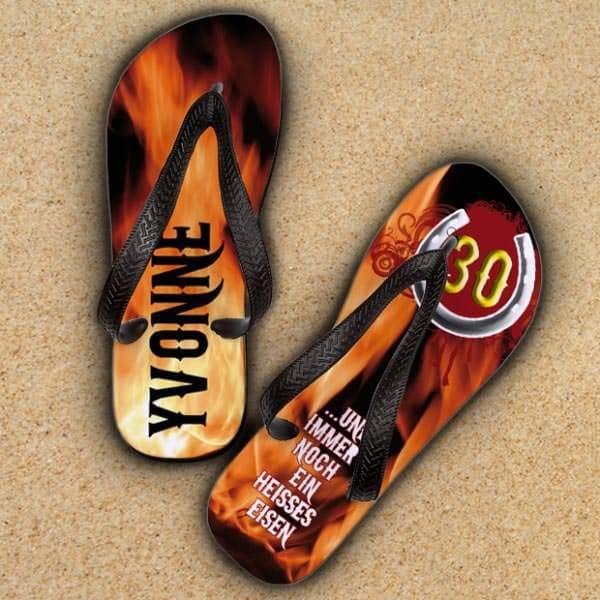 Sandalen zum Geburtstag