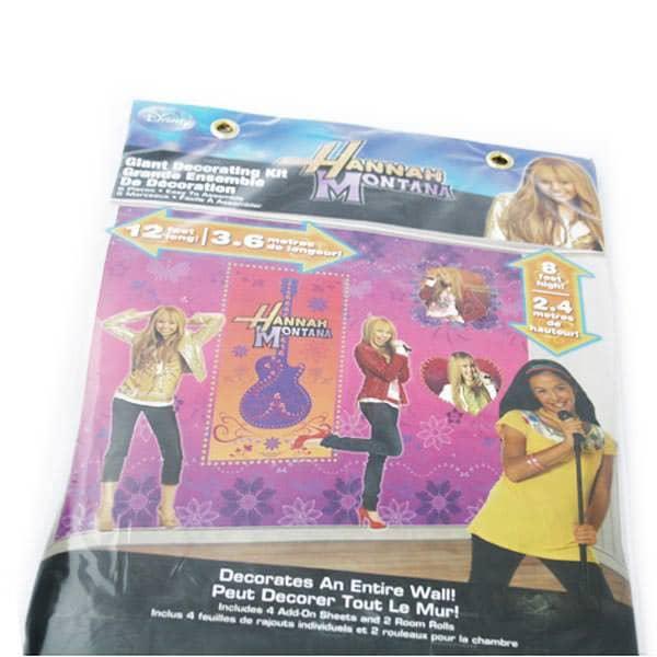 Wandscenario Hannah Montana