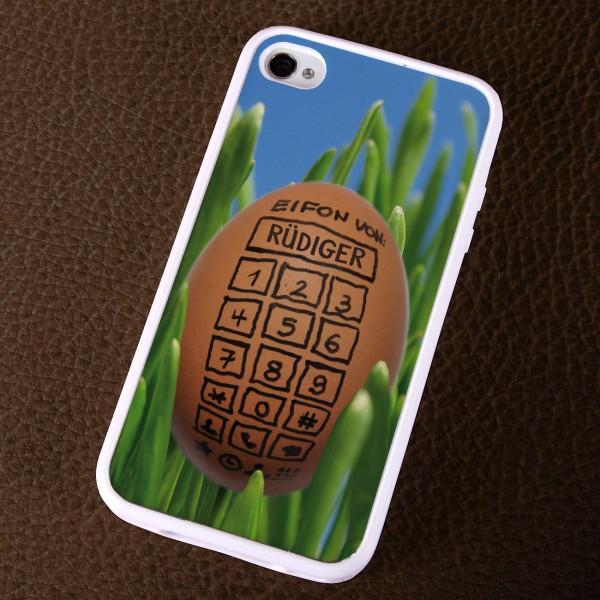 IPhone 4 s Cover in weiß - Eifon