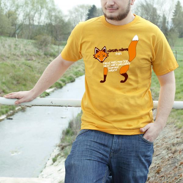 Für begabte Handwerker- und Heimwerkerfüchse ein ideales T-Shirt